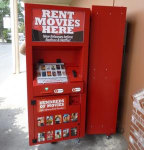 Outpost Retail DVD Rental Kiosk - Storefront